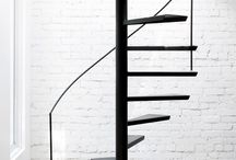 Spindeltrapper / Spial stair case, Spindeltreppe