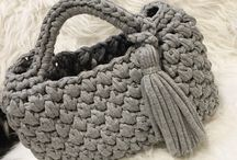 手編みバック