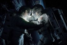 Gravity / Images from Alfonso Cuarón's Gravity, starring Sandra Bullock and George Clooney