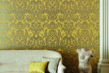 Zoffany / Inspired by a unique archive of original fabric and wallpaper documents, Zoffany creates beautiful products that embody the brand's commitment to quality, heritage and innovation.  Its portfolio includes wallpaper, fabrics, trimmings, upholstery, rugs and paint for use in residential and contract applications. Available from Rodgers of York.