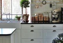 Inspiration kök / Inspiration till min kommande hus och kök