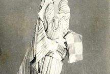 Vintage Geisha & Samurai