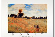 Claude Monet Wall Decor Art Print Posters