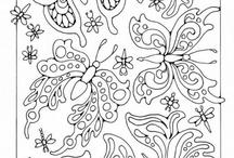 Wedding coloring book. / by heather mangel