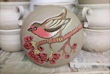 Pintura em ceramica