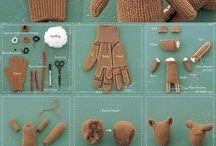 Vyráběné hračky/DIY Toys