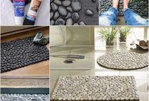 tapete de piedras