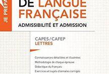 Préparation aux concours de l'enseignement / Derniers achats des médiathèques de l'Espé : sites d'Angoulême, Niort et Poitiers