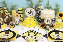 """Becky's Baby Shower / Gender Reveal / """"What will it """"BEE"""" a he or a she?"""" / by Rachel Miller Jewett"""
