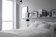 White/Grey Bedroom