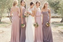 Bride Maides Dresses