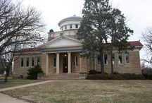 Kansas Architecture - Neoclassical / Featuring Neoclassical style architecture in Kansas