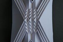 бумага объем ткань