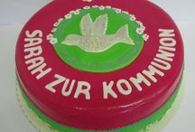 Torten zur Kommunion / Konfirmation