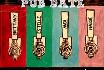 Pub Date / Pub Date is a feature hosted by four blogs showcase a book and a beer each week!