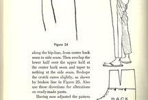 Szycie - spodnie