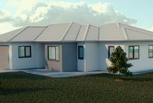 Archviz - exterior / My exterior architecture visualizations