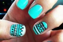 Sharpie nail art / Sharpie art