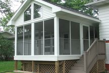 Aluminum screen rooms / Maintenance free screen rooms by D&K Home Products.