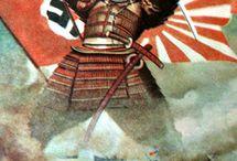 Propaganda japonesa Segunda Guerra Mundial / Propaganda militar japonesa durante la IIWW.