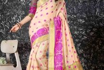 2621 Nizwana Fancy jacquard fabric Cotton silk sarees