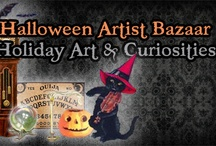 Halloween Artist Bazaar (HAB) Handcrafted Wares!  / A variety of Holiday items from the Halloween Artsit Bazaar members!! / by Jynxx