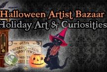 Halloween Artist Bazaar (HAB) Handcrafted Wares!  / A variety of Holiday items from the Halloween Artsit Bazaar members!! / by Jynxx