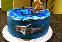 Leonardo's cake 2 year / Cake design