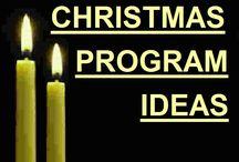 Christmas programs / by Jackie Erickson Weber