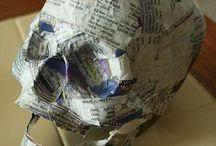 DIY Jornal / Decoração e objetos feitos com jornal!