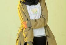 fashion hijab / fashion indie & fashion hijab