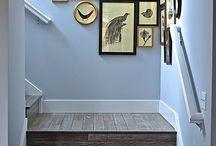 colours / paint, tiles