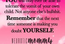#MommyMantras / Daily Positive Affirmations for women/moms
