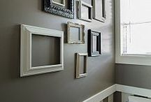 ideas for walls.e.g .. hanging pics.colours to psint