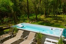 Above ground pool ideas ~ / by Toni Dunaway