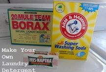 Homemade house cleaners