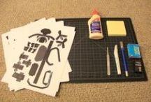 Papercraft / Deer  John ;)