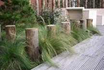 verticale elementen tuin - vertical elements garden