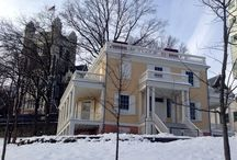 Hamilton Grange / In 1802 Alexander Hamilton moved into a new home, which you can tour when visiting New York City.  It's located at 141st Street between Convent and St. Nicholas Avenues in Harlem, New York.
