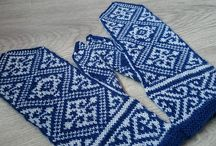 Delft-Inspired Knits