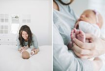 Lifestyle newborn shoot