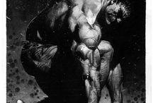 Marvel & DC art
