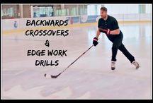 Hockey drill