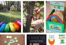 Spring Family Activities (Seasonal) / Spring Family Fun, St. Patrick's Day Activities, Springtime Activities for Kids, Easter Activities, Easter Ideas for Kids