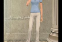 Sims 2 Clothing- Athletic