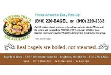 Bagels & Bites Menu