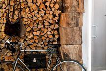 Profumo d'inverno... legna in casa!
