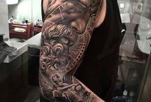 Tatuaje de mangas para hombres