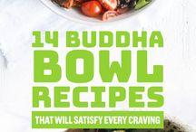 bowl food half way