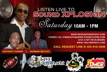 """Sound Xplosion Saturday / It's the last """"Sound Xplosion Saturday"""" in 2013 live from 10am-1pm ET with Dj Ezzy B, Norman Meyler and Anthony Turner on www.106liveradio.com  It's fun and excitement... Find us on tunein or dial 832-551-5238 to listen Blazing the hottest Reggae, Soca, Hip hop and more...  Request line 404-910-4589  We're going to take a glance back of some of the highs and lows in 2013..."""